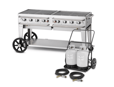 "Crown Verity 60"" Mobile Club Grill"