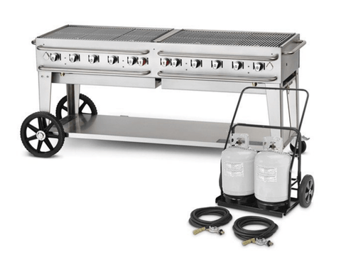 "Crown Verity 72"" Mobile Club Grill"
