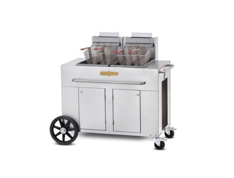 Crown Verity Double Tank Fryer