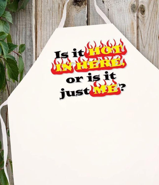 LA Imprints Attitude Apron - is it Hot in Here - Chadwicks & Hacks, Hamilton Ontario