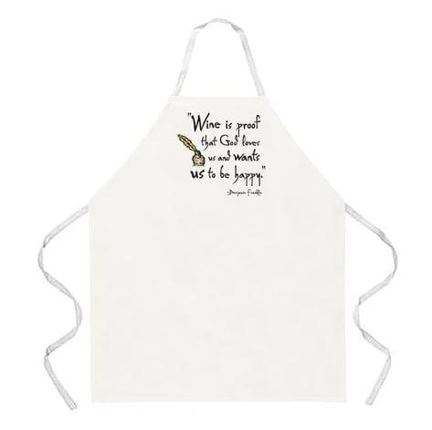 LA Imprints Attitude Apron - Wine is Proof - Chadwicks & Hacks, Hamilton Ontario