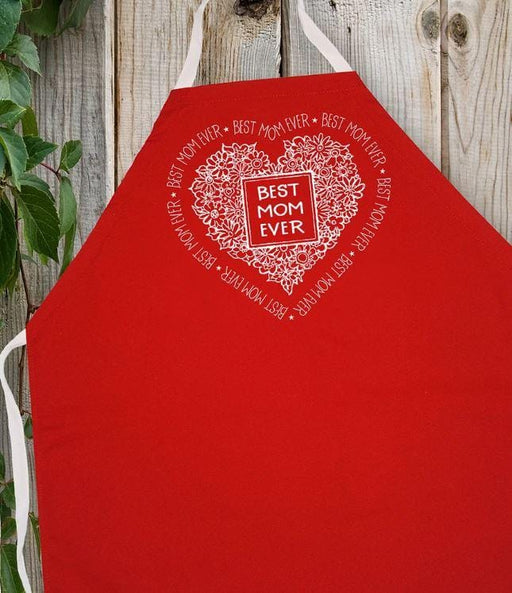 LA Imprints Attitude Apron - Best Mom Ever - Chadwicks & Hacks, Hamilton Ontario