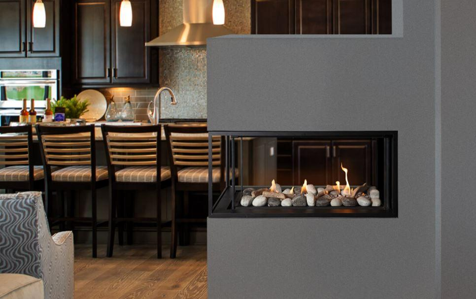 Valor LX1 Pier Series Multi-Sided Gas Fireplace - Chadwicks & Hacks, Hamilton Ontario