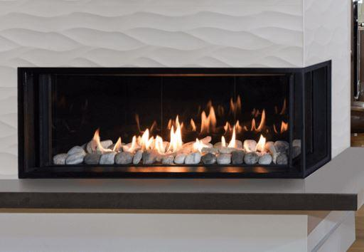 Valor LX2 Series Gas Fireplace (Right Corner) - Chadwicks & Hacks, Hamilton Ontario
