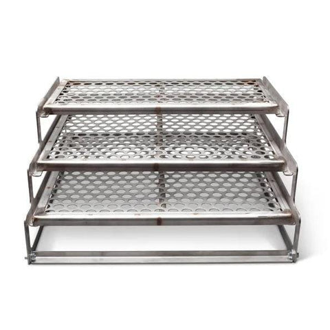 Yoder Stainless 3-Tier Rack Assembly