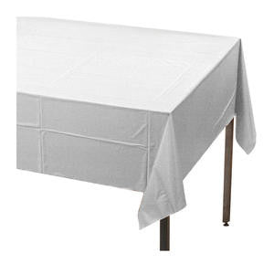 "Tablecover White 54"" x 108"" - Home Of Coffee"