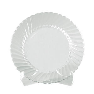 "Classicware® Plate Clear 6"" - Home Of Coffee"