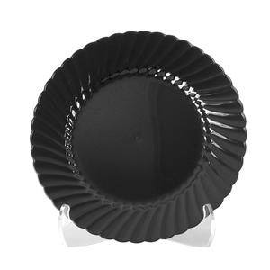 "Classicware® Plate Black 7 1/2"" - Home Of Coffee"