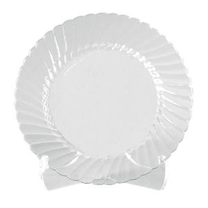 "Classicware® Plate Clear 9"" - Home Of Coffee"