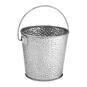 Galvanized Collection Pail with Handle Small - Home Of Coffee