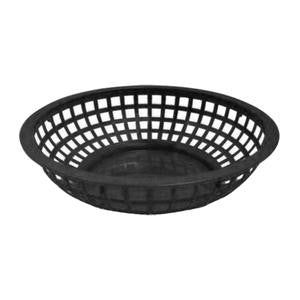 "Bread/Serving Basket Black 8"" - Home Of Coffee"