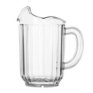 Traex® Tuffex® Pitcher with 3 Lips Clear 60 oz - Home Of Coffee