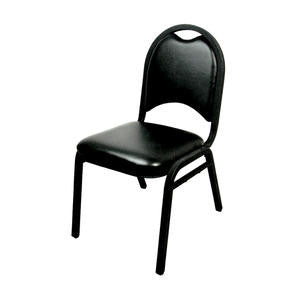Stack Chair Deluxe Black - Home Of Coffee