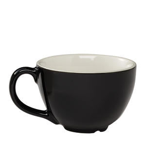 Cremaware Cup Black 12 oz - Home Of Coffee