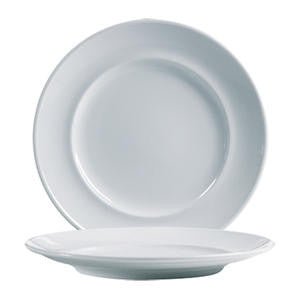 "Arcoroc® Rondo Salad/Dessert Plate WR White 8 5/8"" - Home Of Coffee"