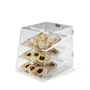 3-Tray Case Clear - Home Of Coffee