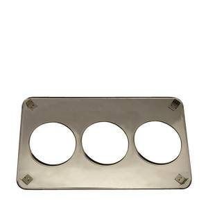 "Adaptor Plate Three 6 1/2"" Hole - Home Of Coffee"