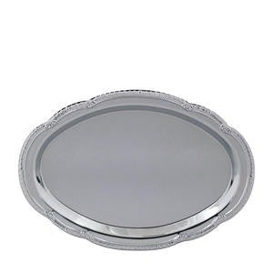 "Affordable Elegance™ Tray Oval 12"" x 8"" - Home Of Coffee"