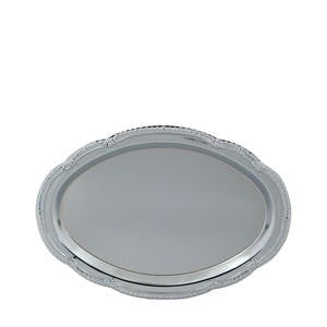 "Affordable Elegance™ Tray Oval 15"" x 10"" - Home Of Coffee"