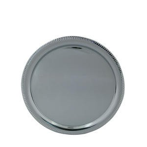 "Affordable Elegance™ Tray Round 14"" - Home Of Coffee"
