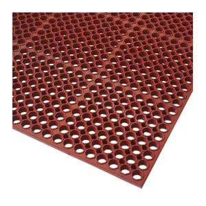 "Anti-Fatigue Mat Economy Red 3' x 5' 1/2"" - Home Of Coffee"
