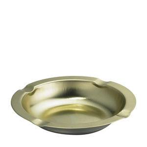 "Ashtray Anodized Aluminum 5 3/4"" - Home Of Coffee"