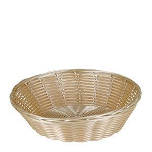 "Basket Round Natural 8 1/2"" x 2 1/2"" - Home Of Coffee"