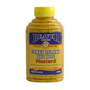 Beaver Coney Island Mustard - Home Of Coffee