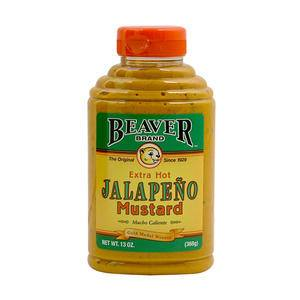 Beaver Jalapeno Mustard - Home Of Coffee