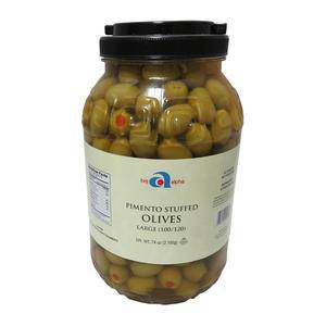 Big Alpha Olive Pimento Stuffed 100-120 - Home Of Coffee