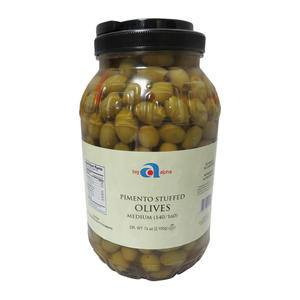 Big Alpha Olive Pimento Stuffed 140-160 - Home Of Coffee