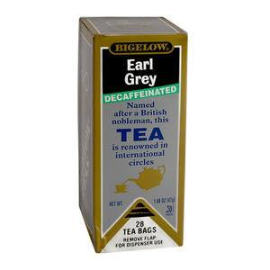 Bigelow® Earl Grey Tea Decaffeinated - Home Of Coffee