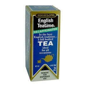 Bigelow® English Teatime® Tea Decaffeinated - Home Of Coffee