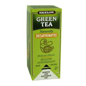 Bigelow® Green Tea Decaffeinated - Home Of Coffee