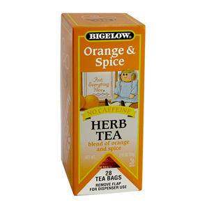 Bigelow® Orange and Spice Herb Tea - Home Of Coffee