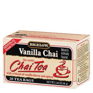 Bigelow® Vanilla Chai Tea - Home Of Coffee