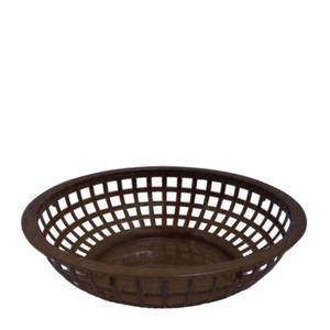 "Bread/Serving Basket Brown 8"" - Home Of Coffee"