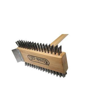 Broiler Brush with Scraper - Home Of Coffee