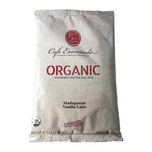 Cafe Essentials® Organic Madagascar Vanilla Latte - Home Of Coffee