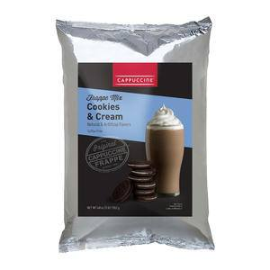 Cappuccine Cookies and Cream Frappe - Home Of Coffee