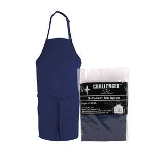 "Challenger® 3-Pocket Apron Navy 28"" x 30"" - Home Of Coffee"