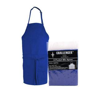"Challenger® 3-Pocket Apron Royal 28"" x 30"" - Home Of Coffee"