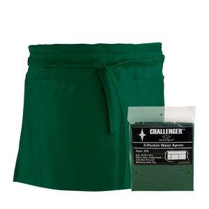 Challenger® 3-Pocket Waist Apron Hunter Green - Home Of Coffee