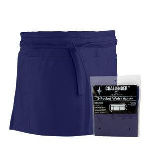 Challenger® 3-Pocket Waist Apron Navy - Home Of Coffee