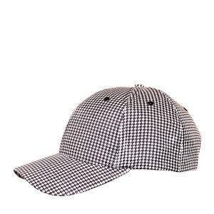 Challenger® Chef Cap Black/White Check - Home Of Coffee