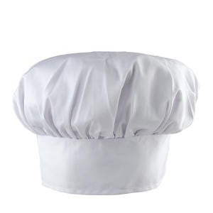 "Challenger® Chef Hat White 13"" - Home Of Coffee"