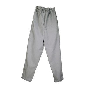 Challenger® Chef Pant Elastic Black/White XL - Home Of Coffee