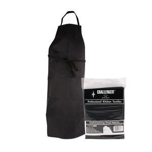 Challenger® Dishwashing Apron Vinyl Black - Home Of Coffee