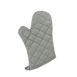 "Challenger® Oven Mitt Silver 17"" - Home Of Coffee"