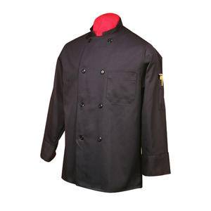 Chef Coat Black L - Home Of Coffee